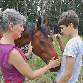 Melanie Wittockx - Therapeutisch werken met paarden - Therapie met paarden