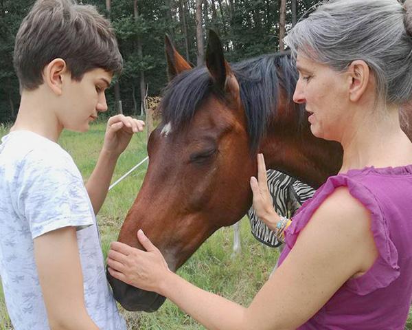 Melanie Wittockx - Coach: Therapie met paarden - Therapie met paarden