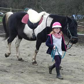 Melanie Wittockx - Coach: Therapie met paarden - Paardenatelier voor kinderen